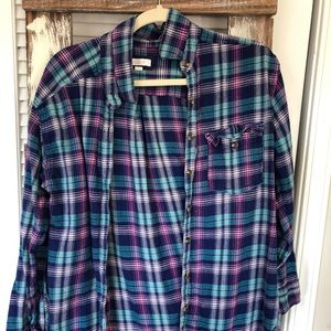 aerie colorful flannel
